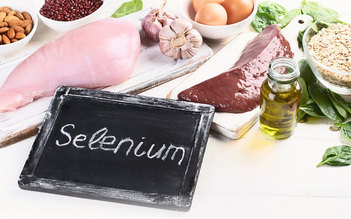 Selenium rich food
