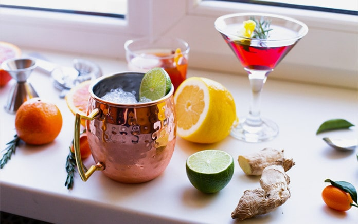 cool mule cocktails