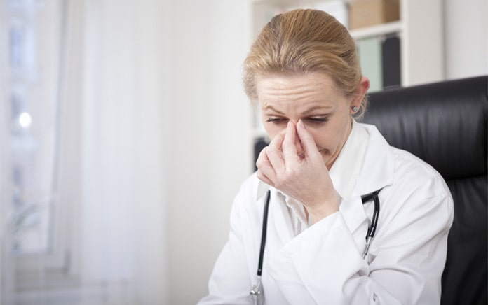 burnout for healthcare providers